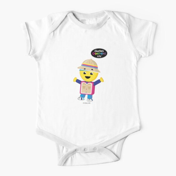 Charlie's Colorforms City - Treasure Hunter Short Sleeve Baby One-Piece