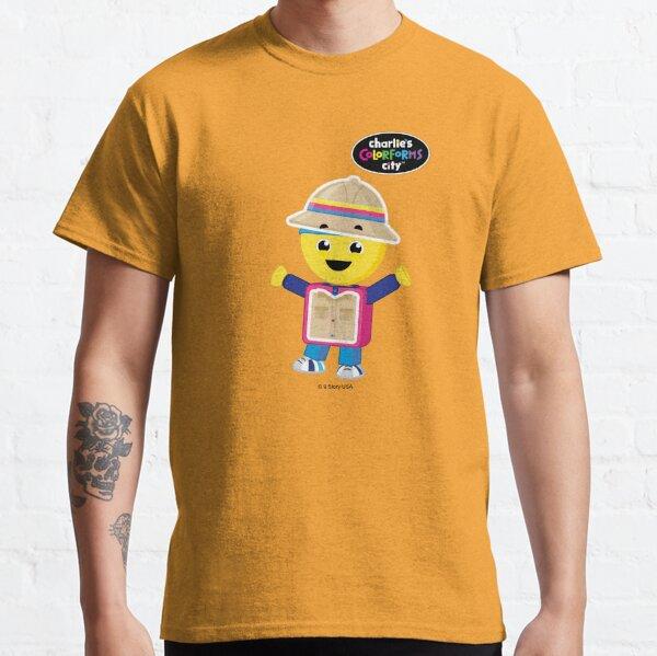 Charlie's Colorforms City - Treasure Hunter Classic T-Shirt