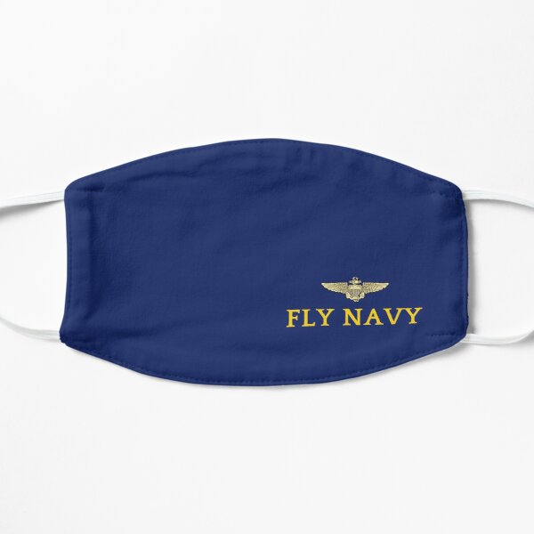 Fly Navy Wings  Mask