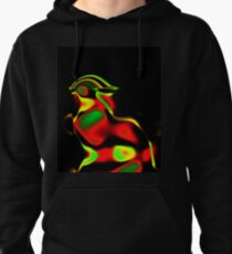 Pompous Chicken Pullover Hoodie