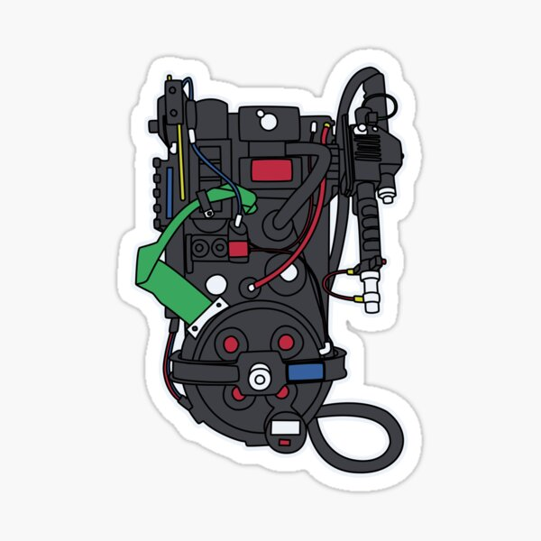 Proton Pack (a) Sticker