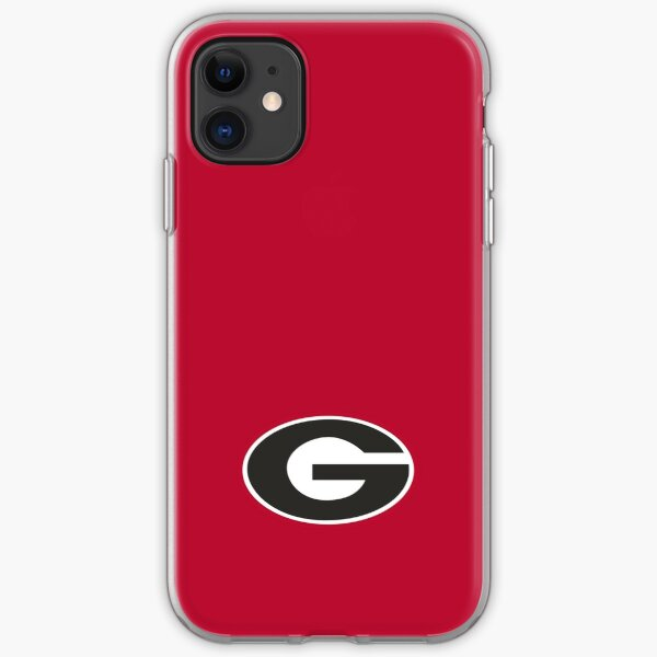 UGA Bulldogs Logo iPhone Soft Case