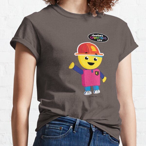 Charlie's Colorforms City - Firefighter Classic T-Shirt
