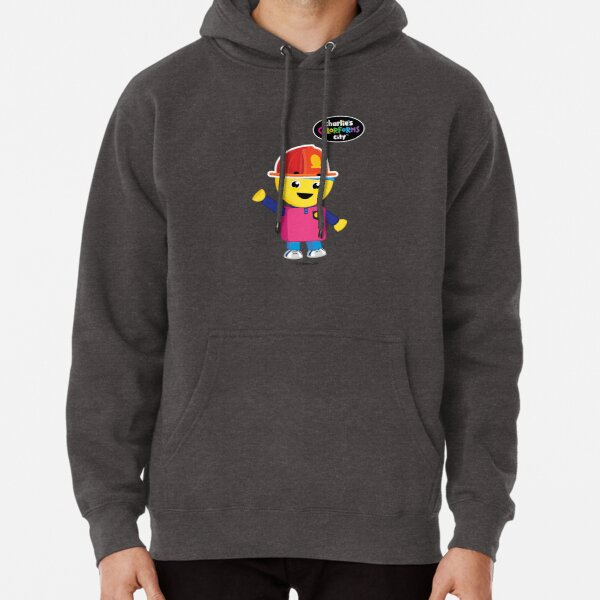 Charlie's Colorforms City - Firefighter Pullover Hoodie