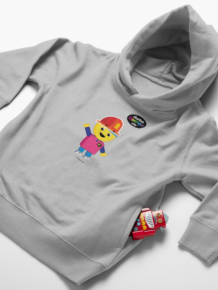 Alternate view of Charlie's Colorforms City - Firefighter Toddler Pullover Hoodie