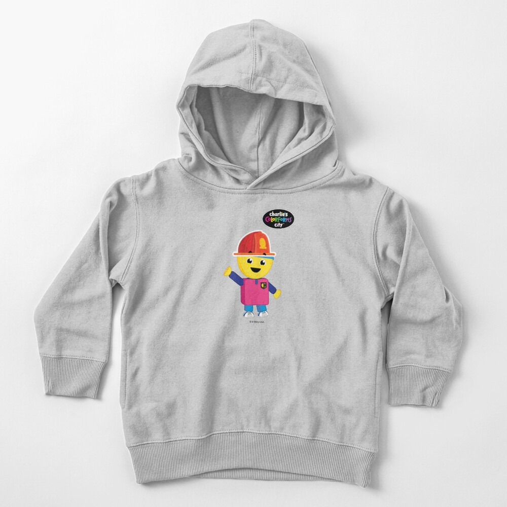 Charlie's Colorforms City - Firefighter Toddler Pullover Hoodie
