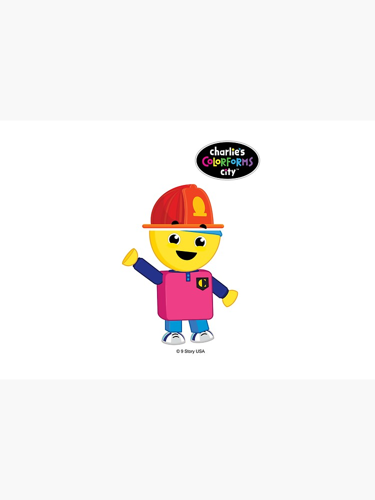 Charlie's Colorforms City - Firefighter by colorformscity