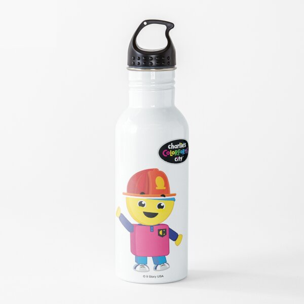 Charlie's Colorforms City - Firefighter Water Bottle