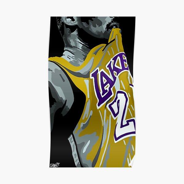Kobe Bryant LA Lakers  Poster