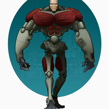 Cyborg by JackBQuick