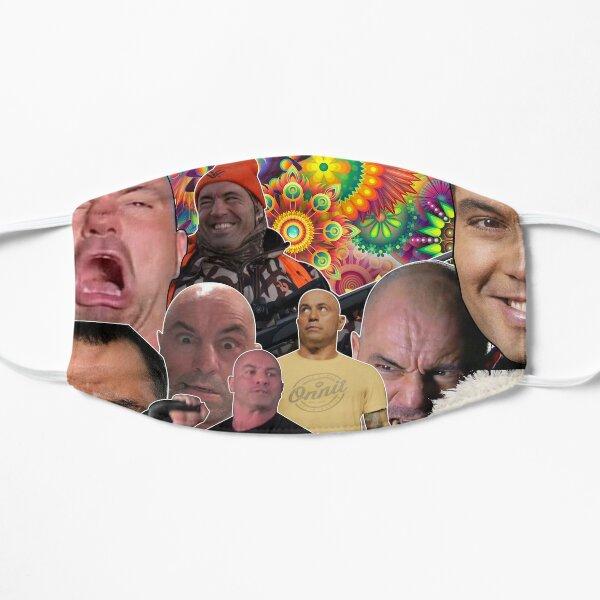 The Many Faces Of Joe Rogan - Mask Flat Mask
