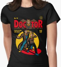 Doctor Comic Women's Fitted T-Shirt