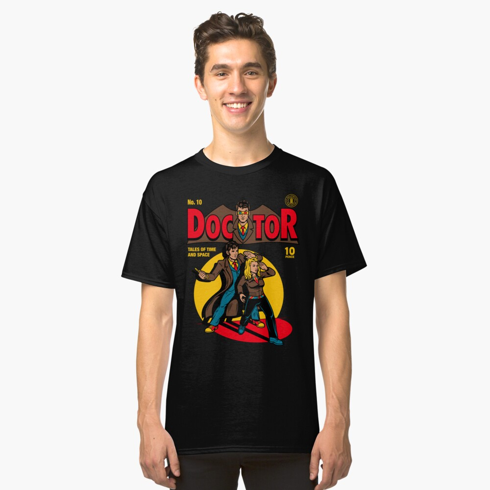 Doctor Comic Classic T-Shirt Front