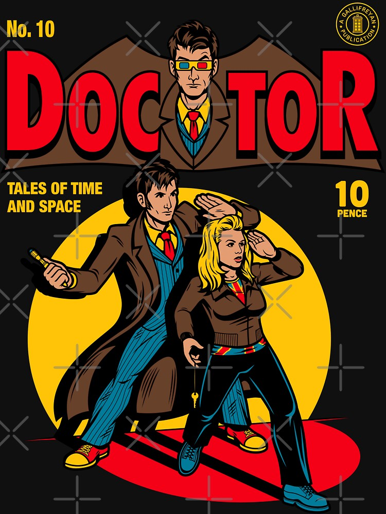 TShirtGifter presents: Doctor Comic | Unisex T-Shirt