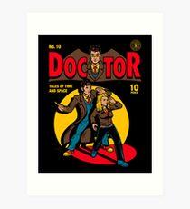 Doctor Comic Art Print