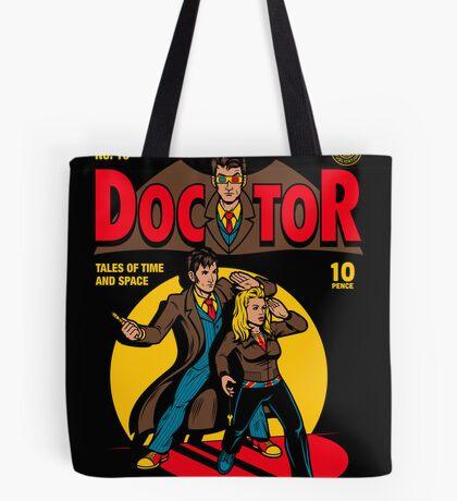 Doctor Comic Tote Bag