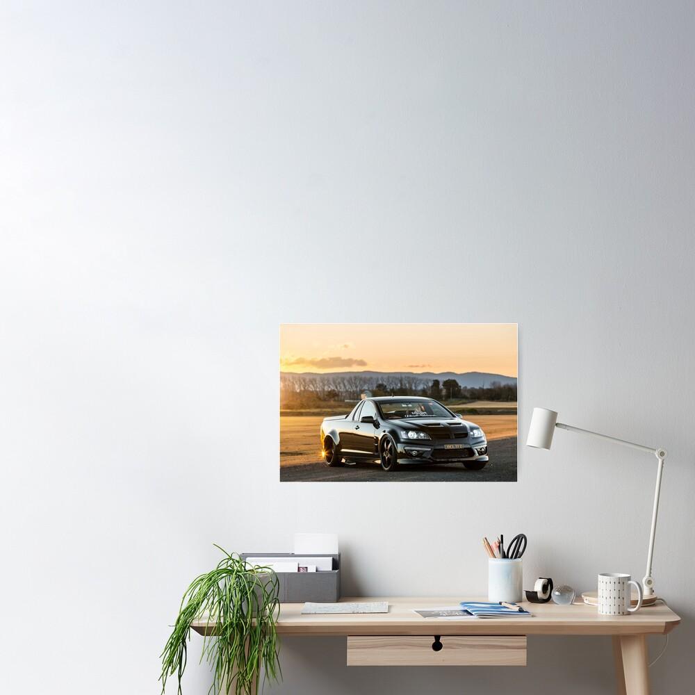 Luke's Holden VE Commodore  Poster