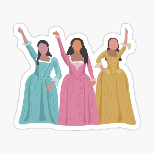 Schyler Sisters (small) Sticker
