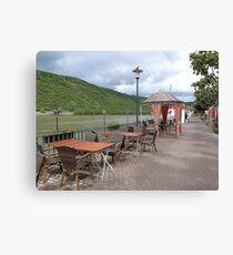 The Promenade Boppard. Leinwanddruck