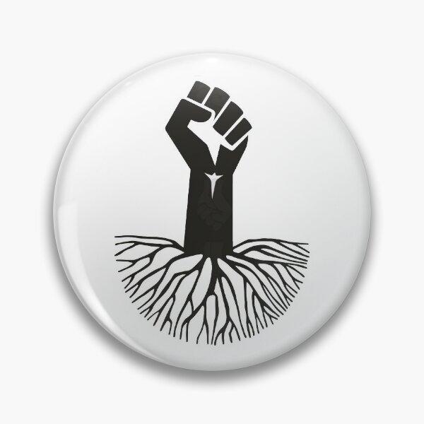 Black Power Fist Pin