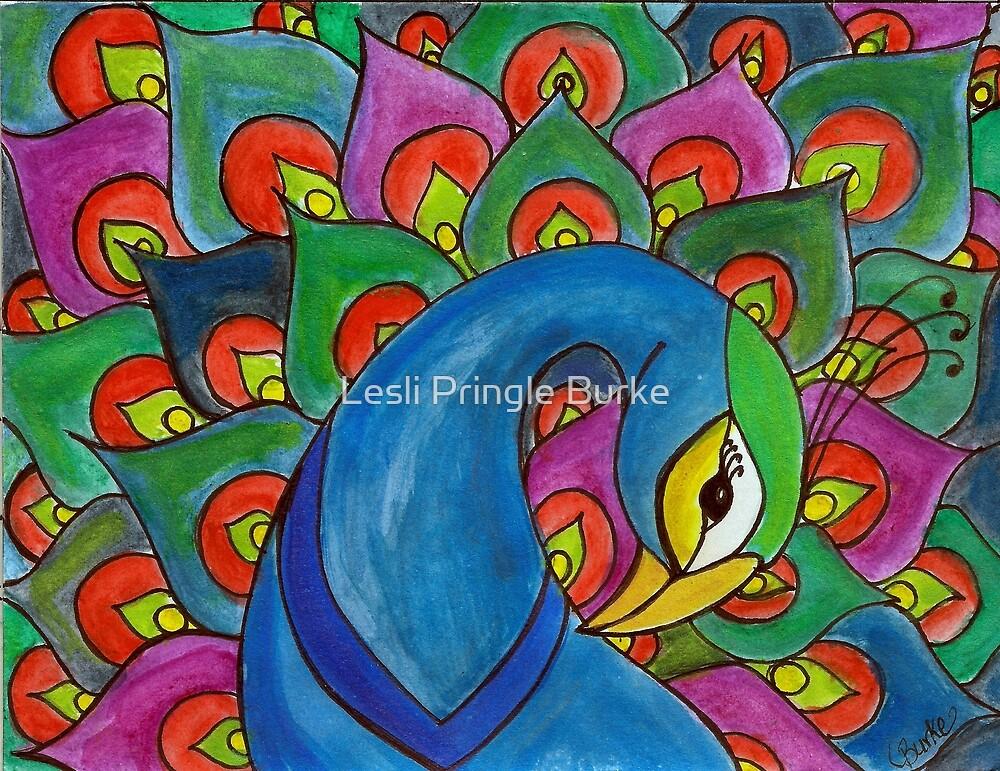 Proud Peacock by Studio Burke