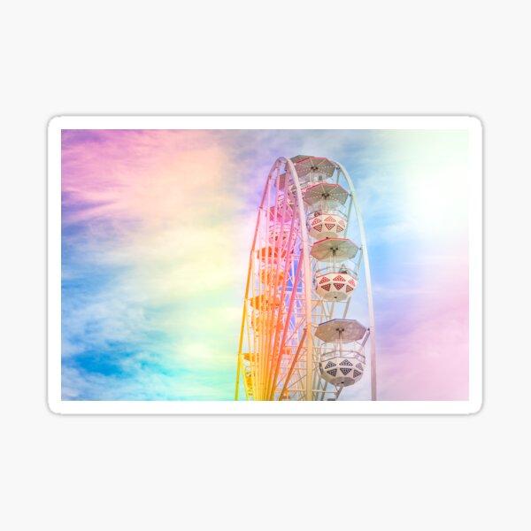 Rainbow Ferris Wheel Sticker