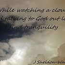 Inspirational cloud watching haiku by HardworkinJudy