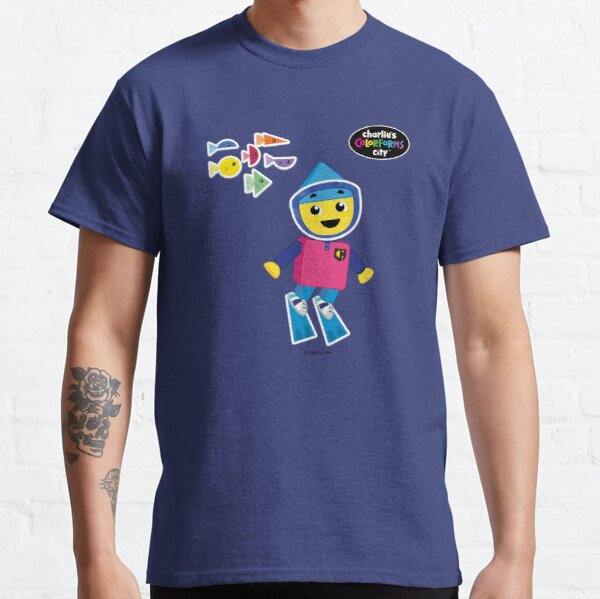 Charlie's Colorforms City - Underwater Classic T-Shirt