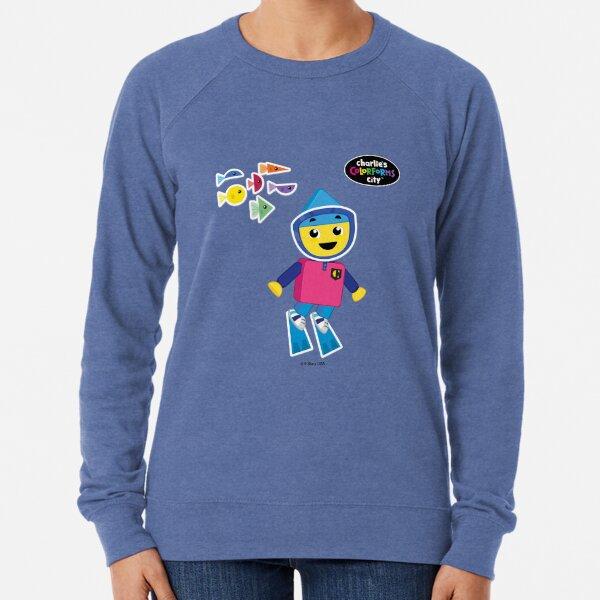 Charlie's Colorforms City - Underwater Lightweight Sweatshirt