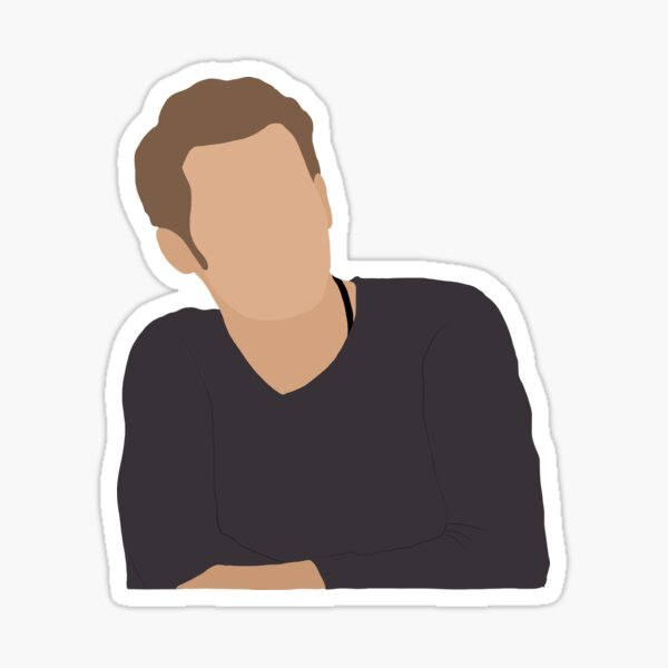 Klaus Mikaelson Portrait Sticker