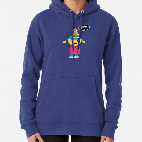 Charlie's Colorforms City - Party Pullover Hoodie