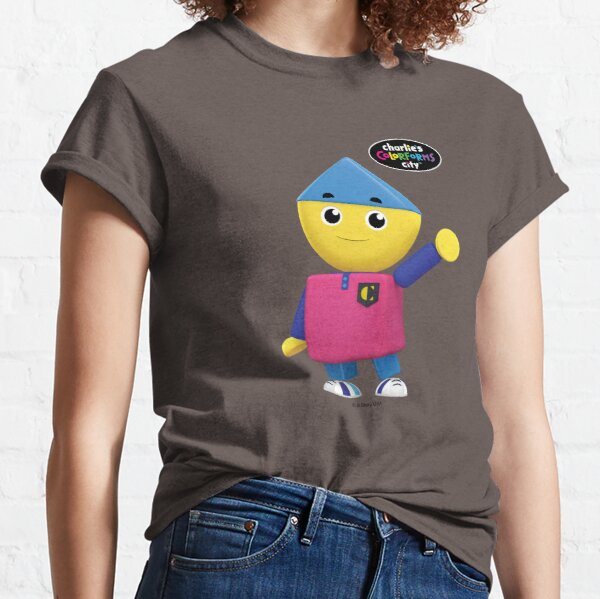 Charlie's Colorforms City - Charlie Waving Classic T-Shirt