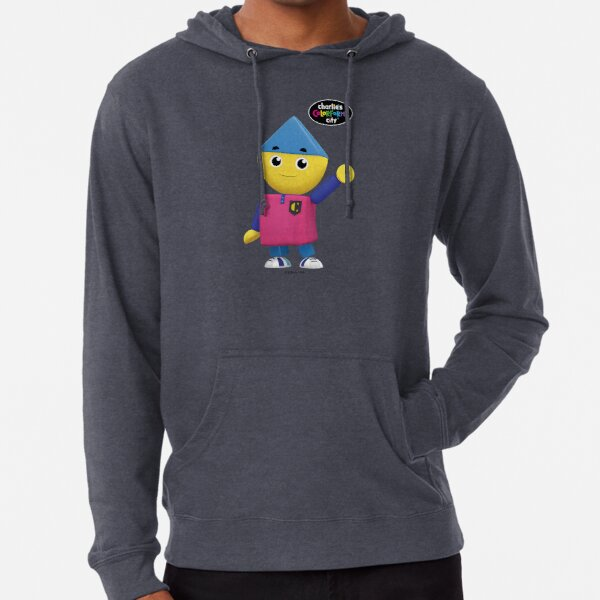 Charlie's Colorforms City - Charlie Waving Lightweight Hoodie