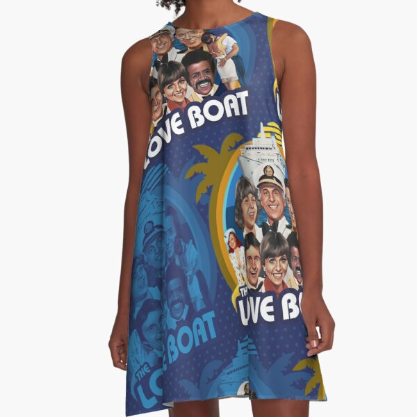 The Love Boat A-Line Dress