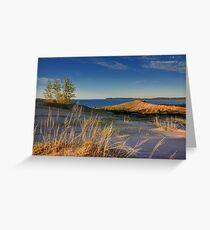 Sleeping Bear Point, Sleeping Bear Dunes National Lakeshore Greeting Card