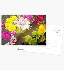 Tumbling flowers Postcards