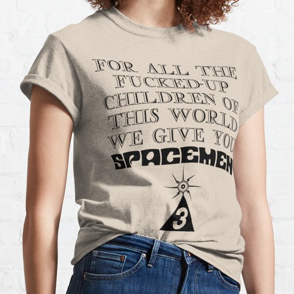 Spacemen 3 For All The Children Of This World Classic T-Shirt
