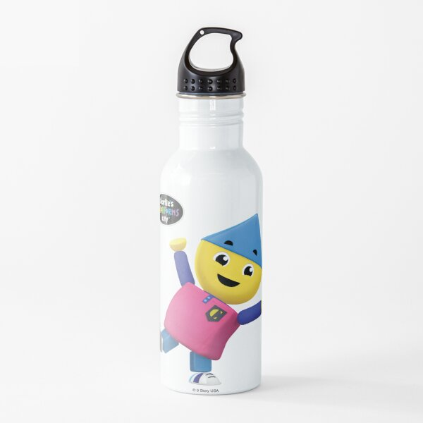 Charlie's Colorforms City - Charlie Water Bottle