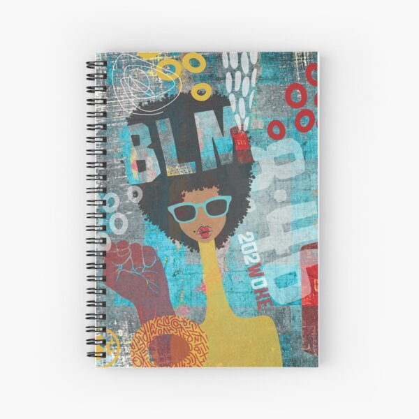 BLM Spiral Notebook