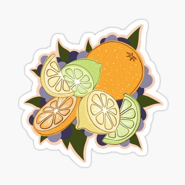 Lemon Lime Orange Sticker