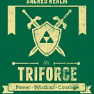Sacred Realm Triforce by Azafran