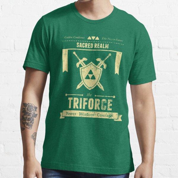 Sacred Realm Triforce Essential T-Shirt
