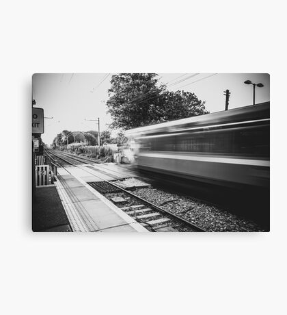 Sydney Parade Train Station Canvas Print