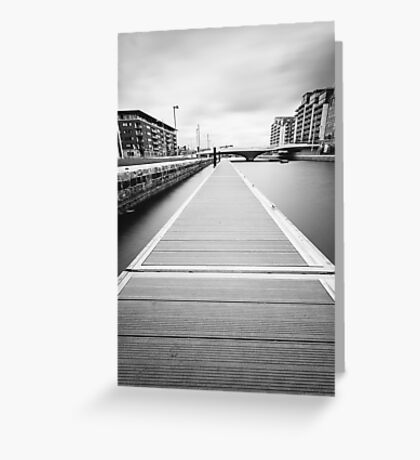 George's Dock, Dublin Docklands Greeting Card
