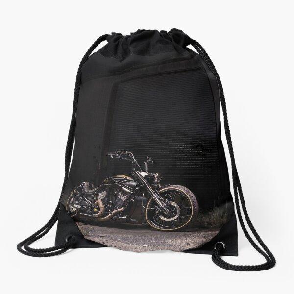 Jay's Harley Davidson V-Rod Drawstring Bag