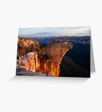 Hanging Rock Greeting Card
