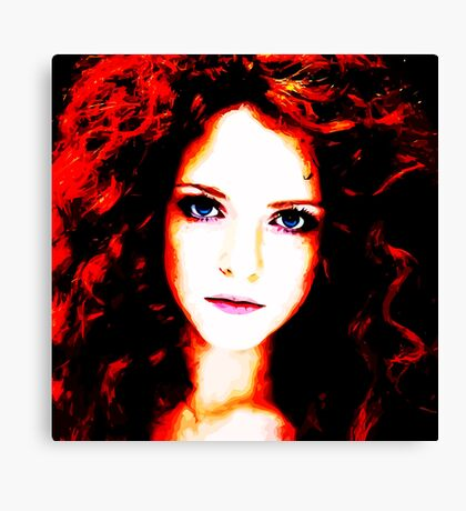 Face 18 Canvas Print