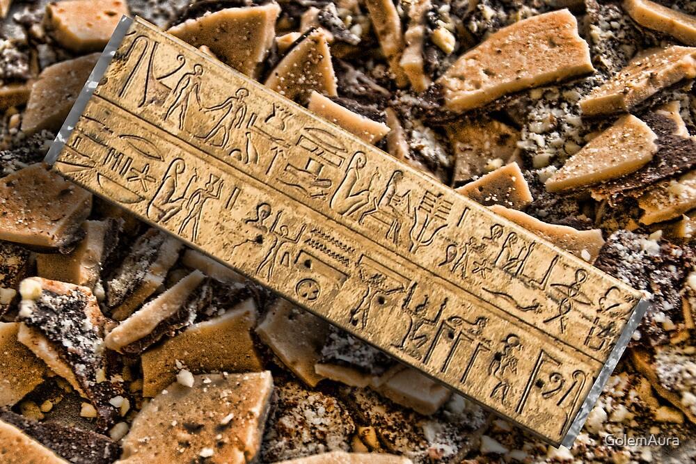 Toffee Brittle Gum Via Egypt by GolemAura