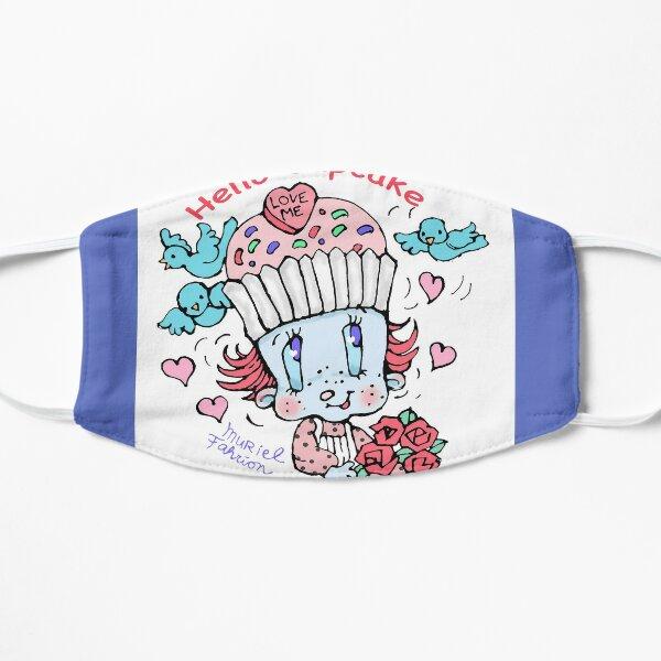 Hello Cupcake Square Mask