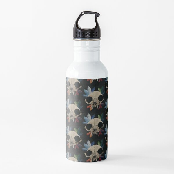 Cat & Crystals  Water Bottle